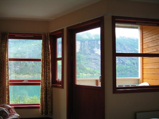 Grande Fjord Hotel: Our window view 1