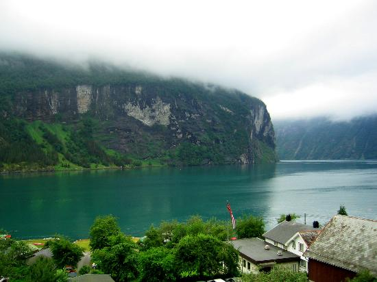 Grande Fjord Hotel: Our window view 2