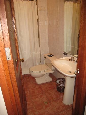 Hotel Torre Dorada : Guest Bathroom