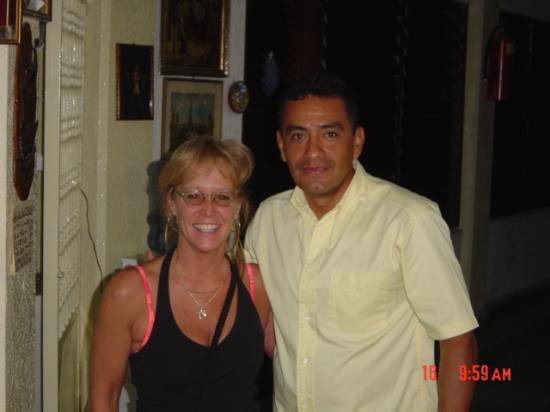 Hotel Los Reyes: Pablito at Hotel De Los Reyes
