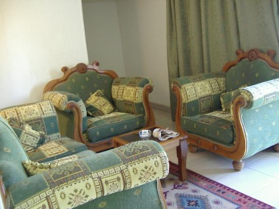 Marhaba Palace Hotel : livingroom