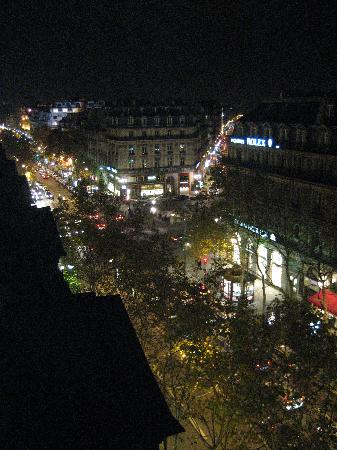 Night View From Small Balcony 2 Picture Of Intercontinental Paris