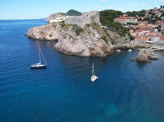 Dubrovnik, Croatia: Amazing water