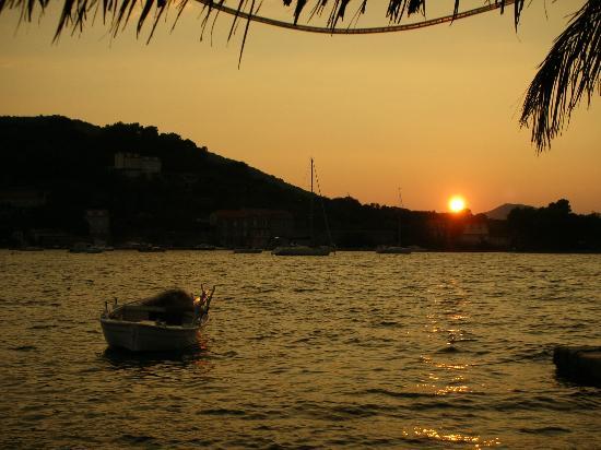 TUI SENSIMAR Kalamota Island Resort: Sunset over Kolocep