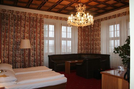 Grandhotel Brno: Room 323 view 1