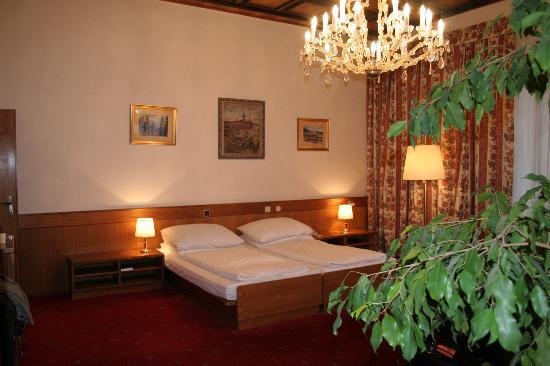 Grandhotel Brno: Room 323 view 2