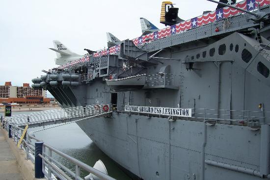 USS LEXINGTON : Rear of the Lexington