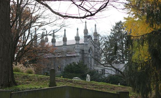 Mount Auburn Cemetery Picture