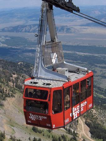 Jackson Hole Aerial Tram照片
