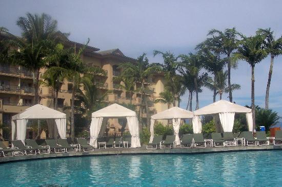 The Ritz Carlton Kapalua Cabanas At Pool
