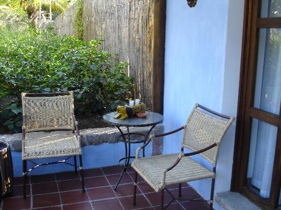 Quinta de las Flores: Another spot on the porch