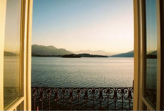 Albergo Ristorante Verbano: Views from our room