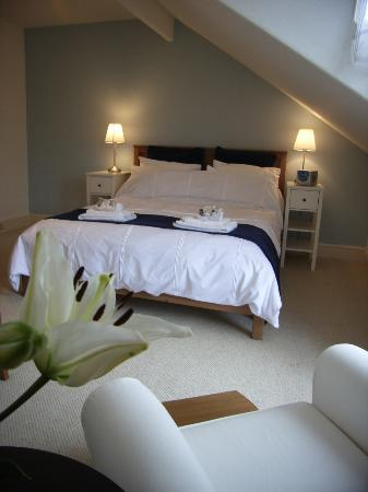 Oakthwaite House: Our kingsize room