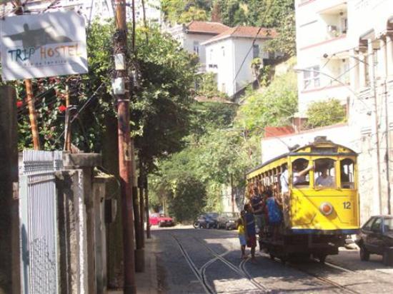 Trip Hostel: tram
