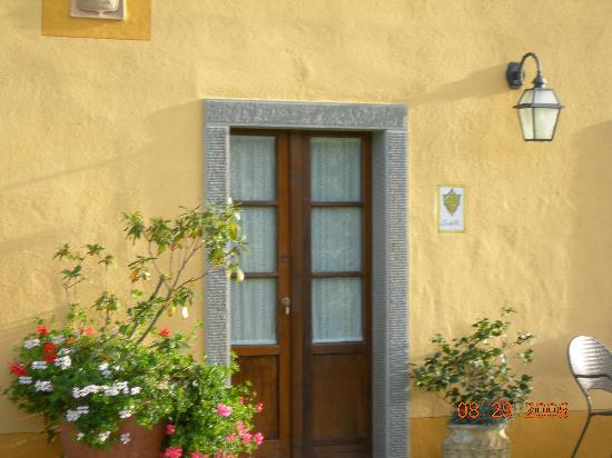Casa Portagioia: garden room entrance