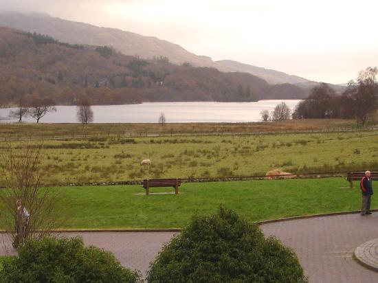 Loch Achray Hotel: View from my hotel window