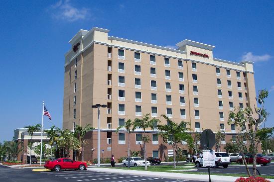 Hampton Inn Hallandale Beach Aventura Nice Clean Hotel
