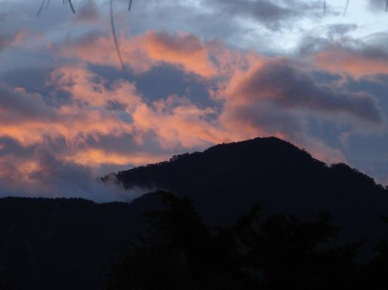 Posada de Santiago: We enjoyed sunset from the Mrador