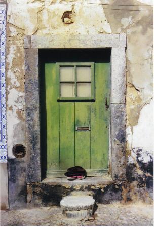 doorway, Tavira, Portugal