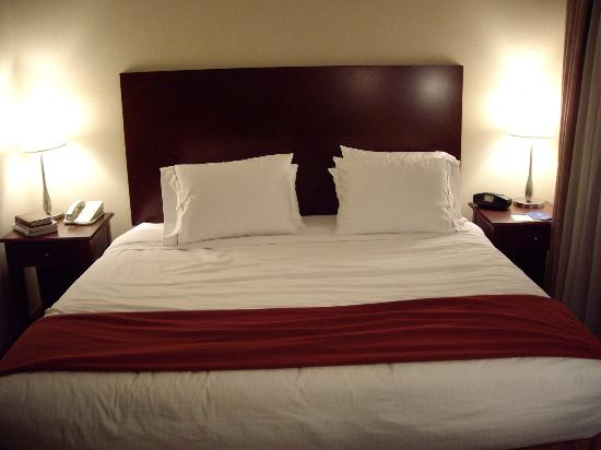 Holiday Inn Express & Suites Surrey: King size Bed