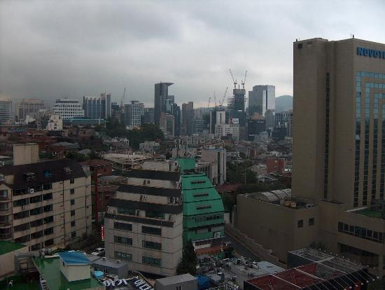 Best Western Premier Gangnam: A view from the hotel room