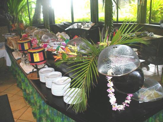 Pacific Resort Rarotonga: breakfast buffet