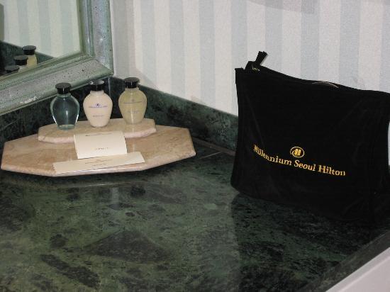 Millennium Seoul Hilton : Amenity goods