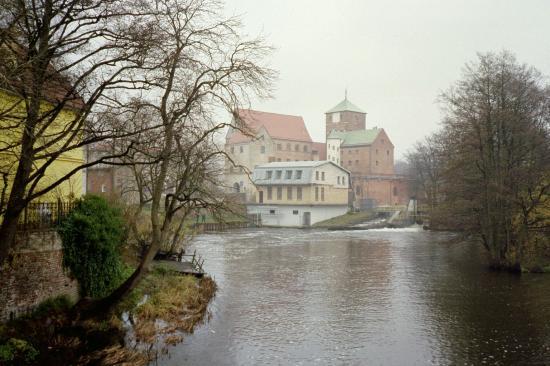 Hotel Lidia: View from bridge in Darlowo