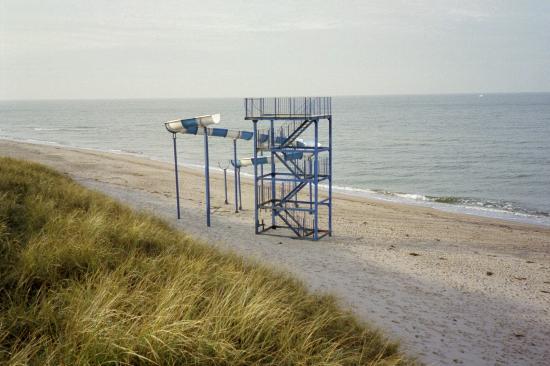 Darłowo, Polska: Beach of Darlowo