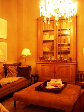 Pand Hotel Small Luxury Hotel: A seating area