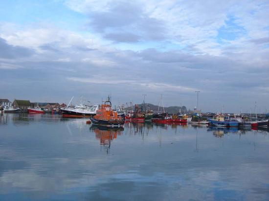 Dublin, Irlandia: Howth, il porto
