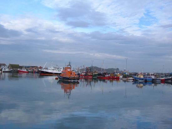 Dublín, Irlanda: Howth, il porto
