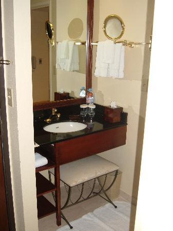 Miami Marriott Dadeland: Bathroom Sink