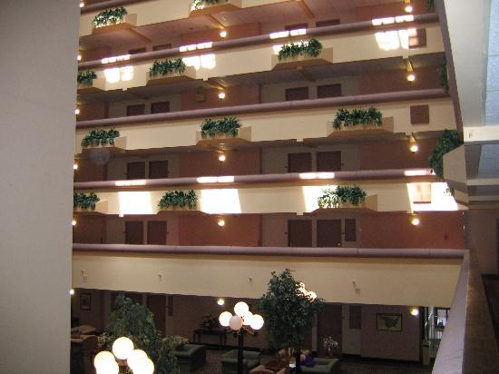 Holiday Inn Great Falls : Atrium