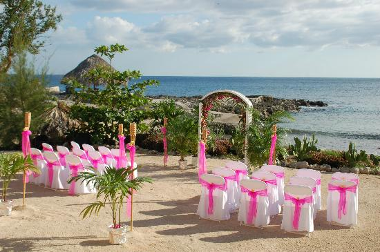 Coral Cove Resort: wedding on the beach