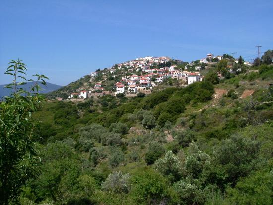 Alonissos, Grèce : The Old Village