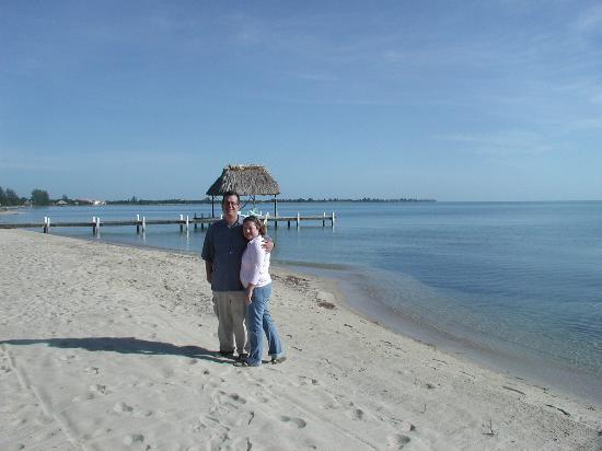 Maya Breeze Inn: Last day on the beach