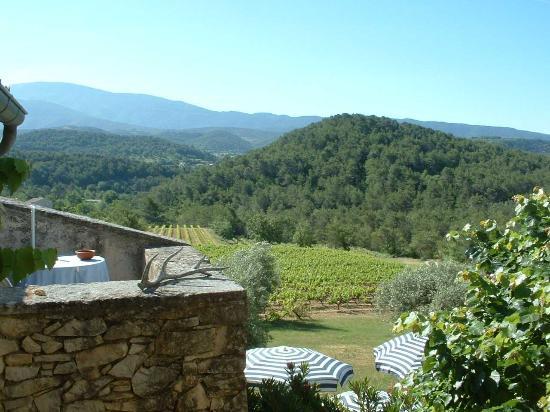 Hostellerie La Manescale: View