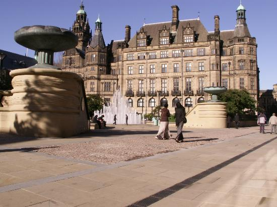 Sheffield, UK: Peace Gardens II