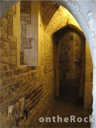 Inside one of the towers - Picture of Tower of London ...