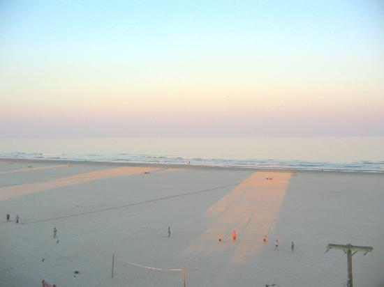 Wildwood Beach: View from the balcony