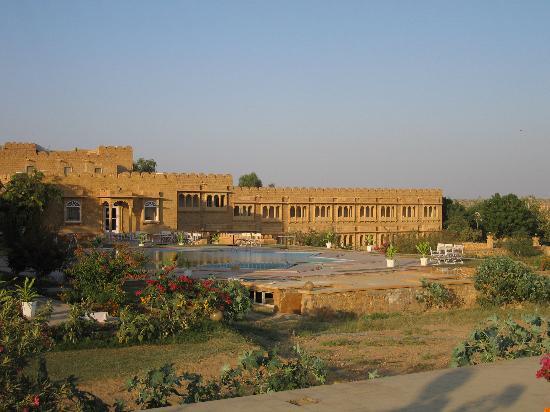 Himmatgarh palace jaisalmer rajasthan hotel reviews - Jaisalmer hotels with swimming pool ...