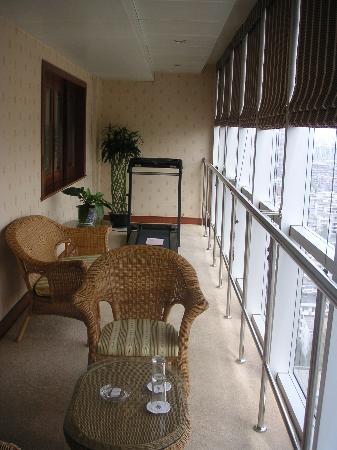 Oriental Century Hotel: Terraza