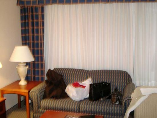 Cleveland Airport Hotel: sitting area
