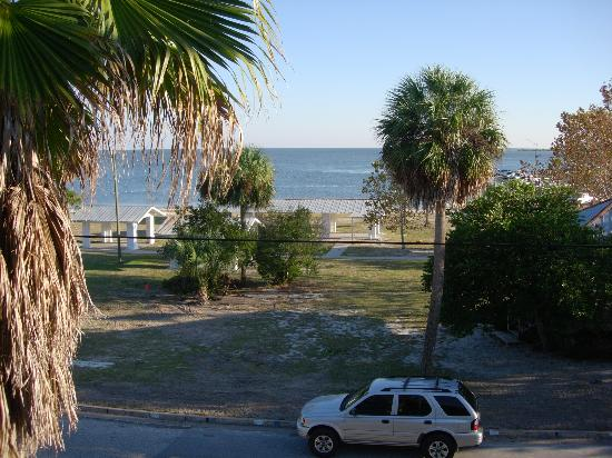 Park Place in Cedar Key: view from balcony