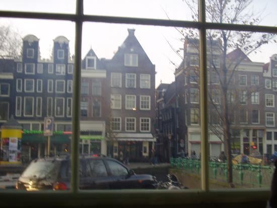 Amsterdam Escape: the view out the window