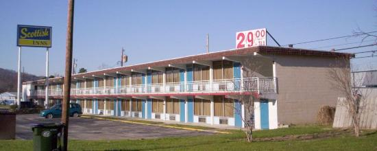 Williamsburg, KY: Right Side Front Motel