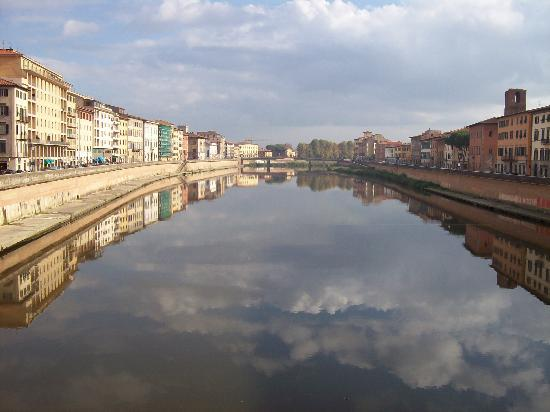 Pisa reflections