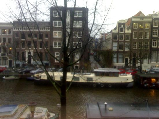 Singel Hotel Amsterdam: View from our window