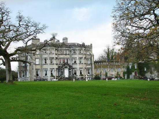 Ballyseede Castle: View from the front lawn